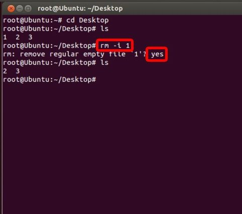 delete a directory in linux