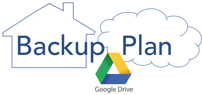 back up vps to google drive