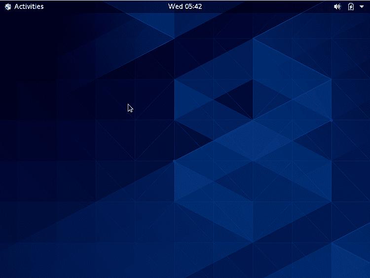 CentOS Desktop