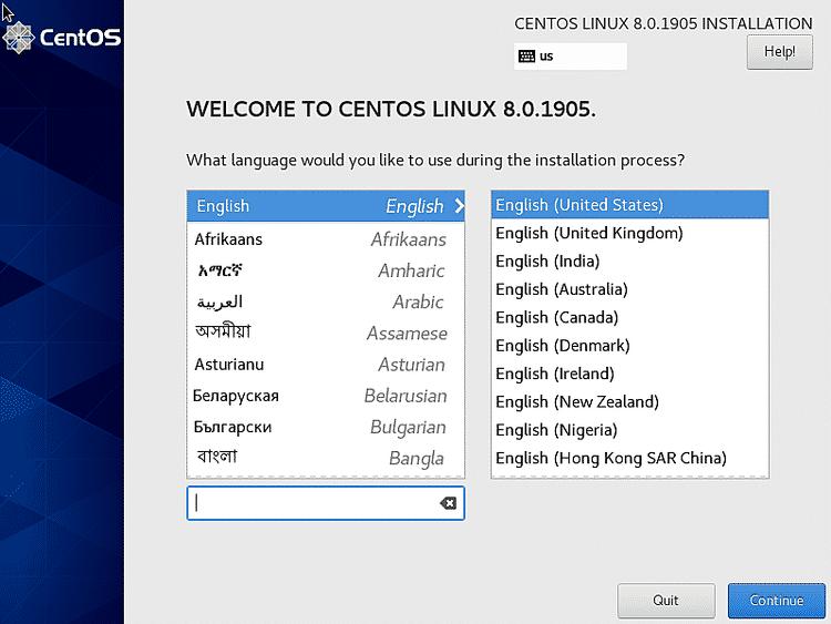 install CentOS 8 desktop